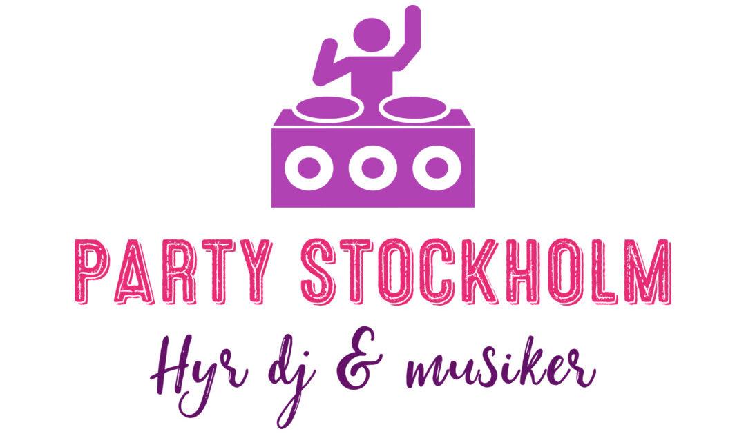 PartyStockholm.se • Hyr DJ & Musiker • 0736-779427
